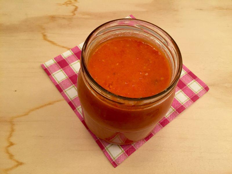 passata di pomodorini con il Bimby