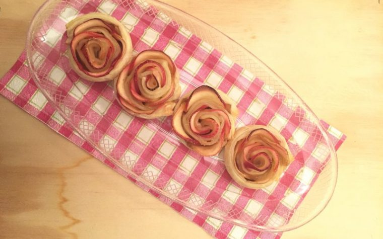 Rose di mela (ricetta dolce facile)