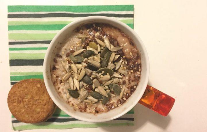 Porridge al cacao (ricetta dolce)