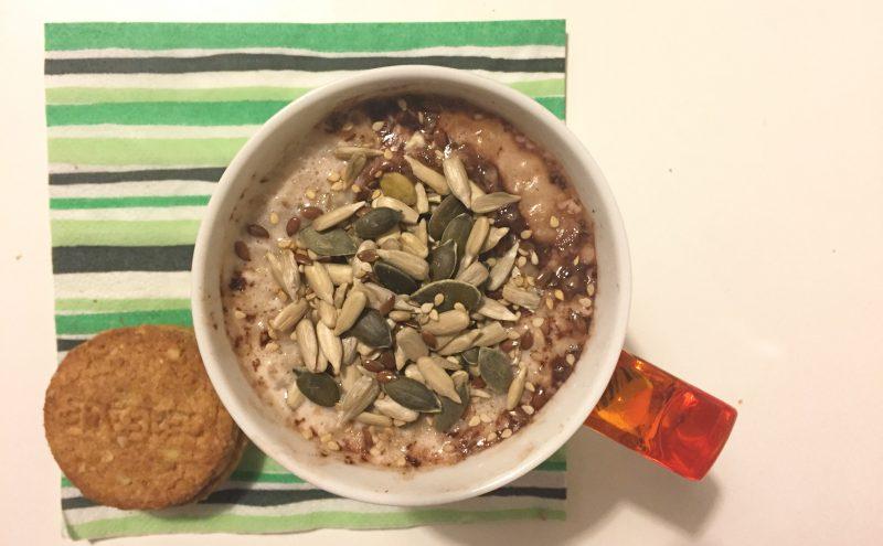 porridge al cacao