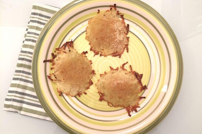 Schiacciatine di patate (ricetta vegana)