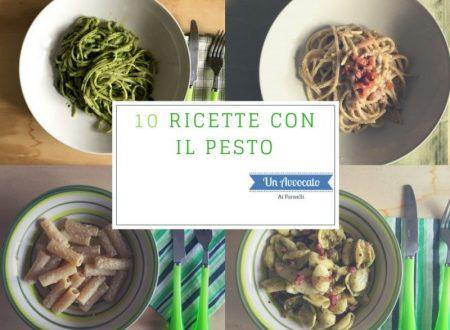 10 ricette con il pesto (raccolta)