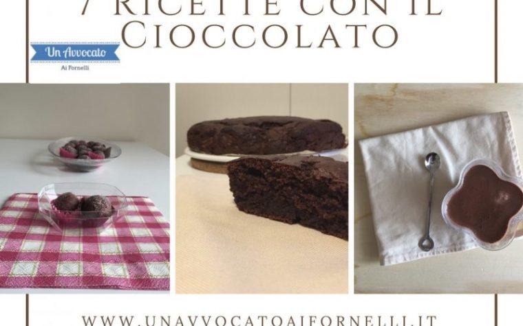 7 Ricette con il cioccolato