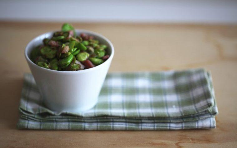 Fave e pancetta (ricetta contorno)