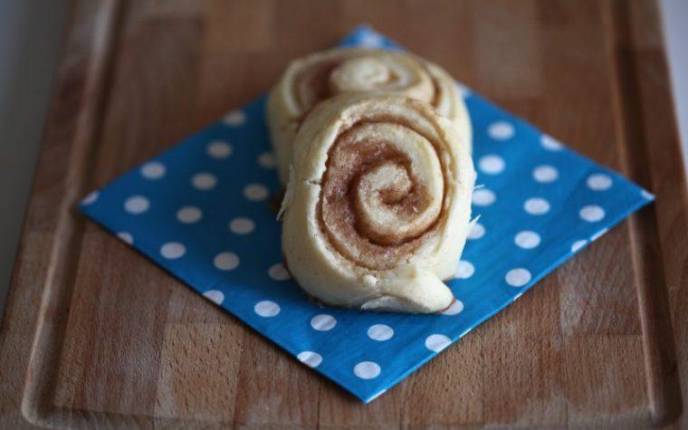 Cinnamon rolls (girelle alla cannella)