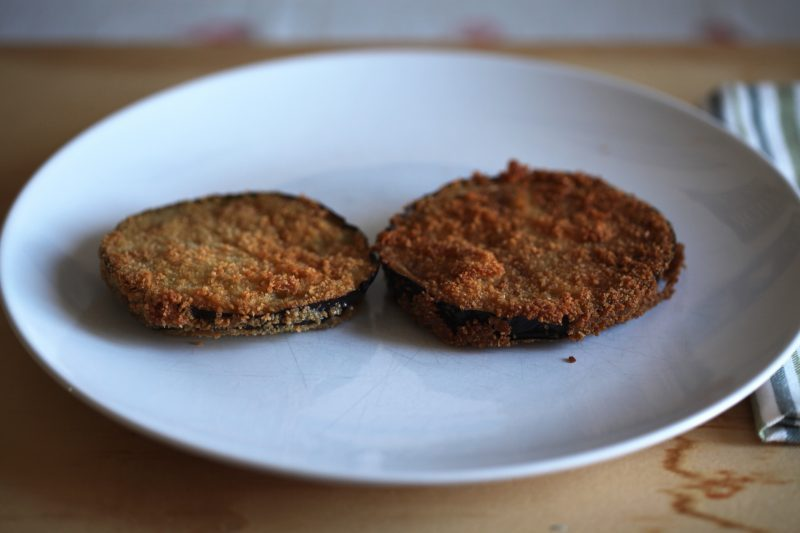 Cotolette di melanzane (ricetta vegetariana)