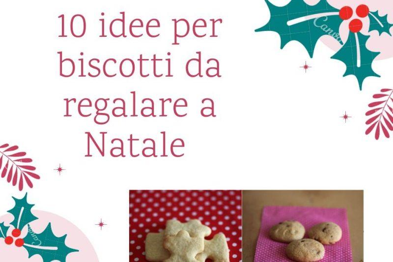 10 idee per biscotti da regalare a Natale