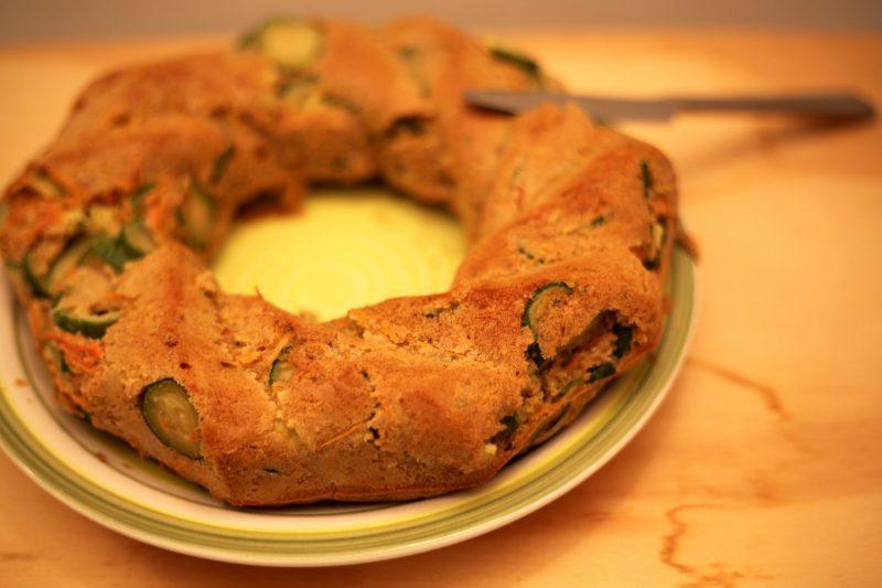 Ciambella salata light (ricetta leggera)