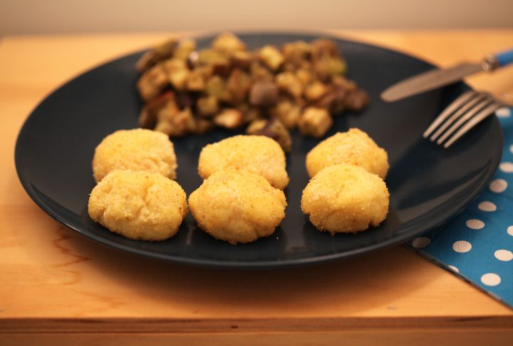 polpette di patate e merluzzo