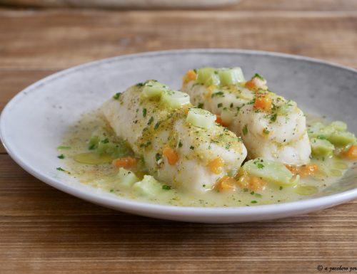 Filetti di merluzzo alle verdure light