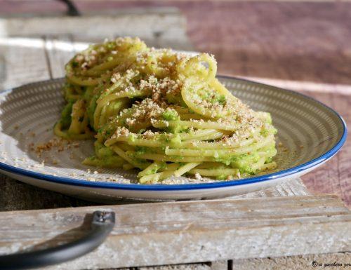 Pasta e broccoli alla siciliana light