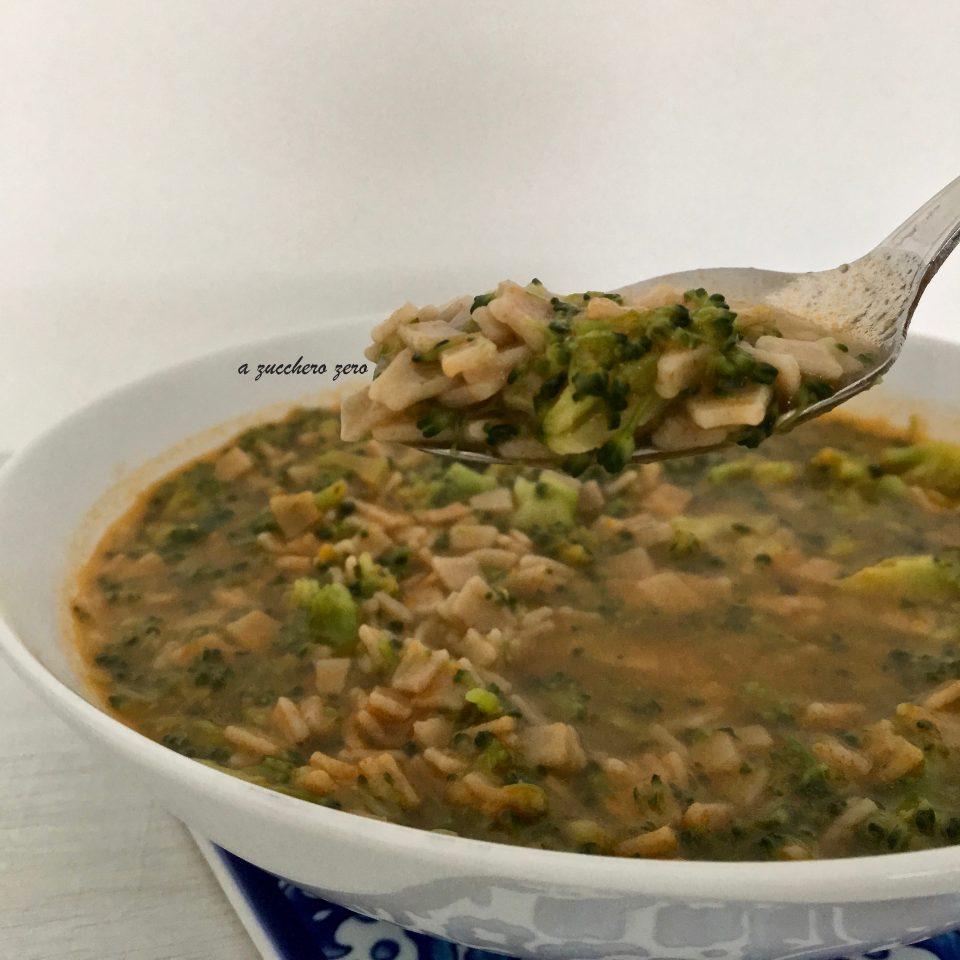 Pasta integrale con broccoli siciliani scramuzza