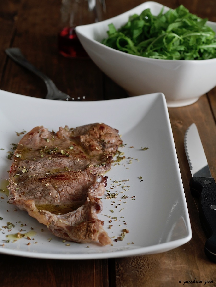 Fettina di carne alla griglia