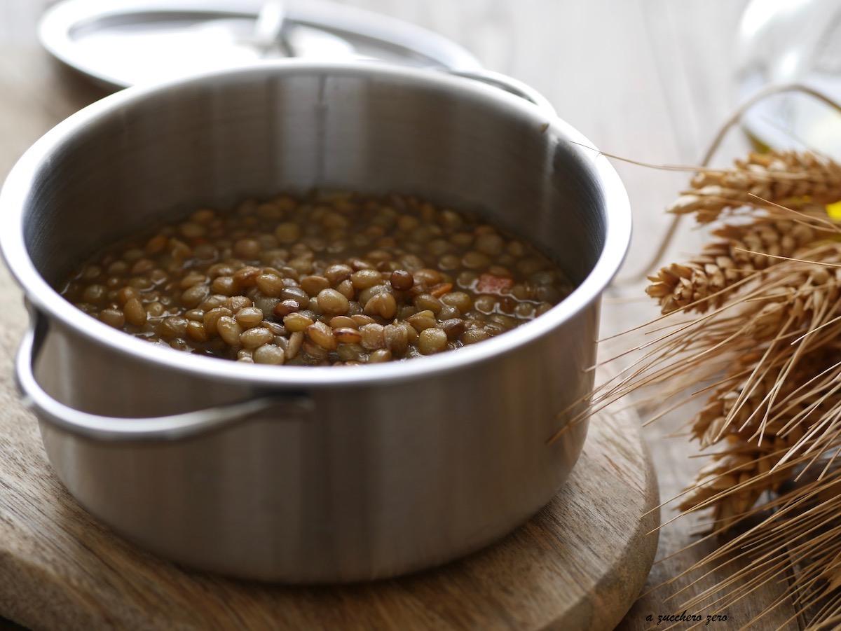 Cucinare le lenticchie ricetta base a zucchero zero for Cucinare 2018