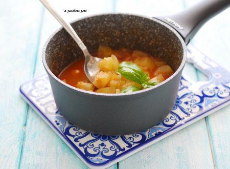 Zuppa di zucchina lunga estiva [ricetta siciliana]