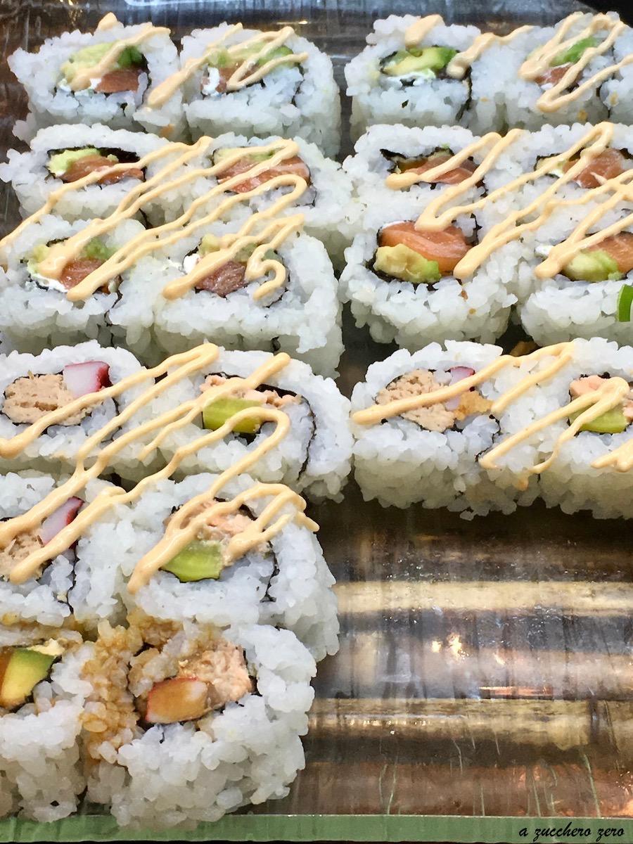 Al ristorante giapponese: sushi, sashimi e glicemia