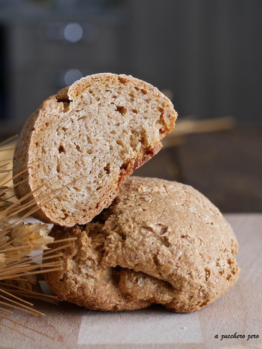 Pane integrale di pasta dura ragusano a lunga lievitazione