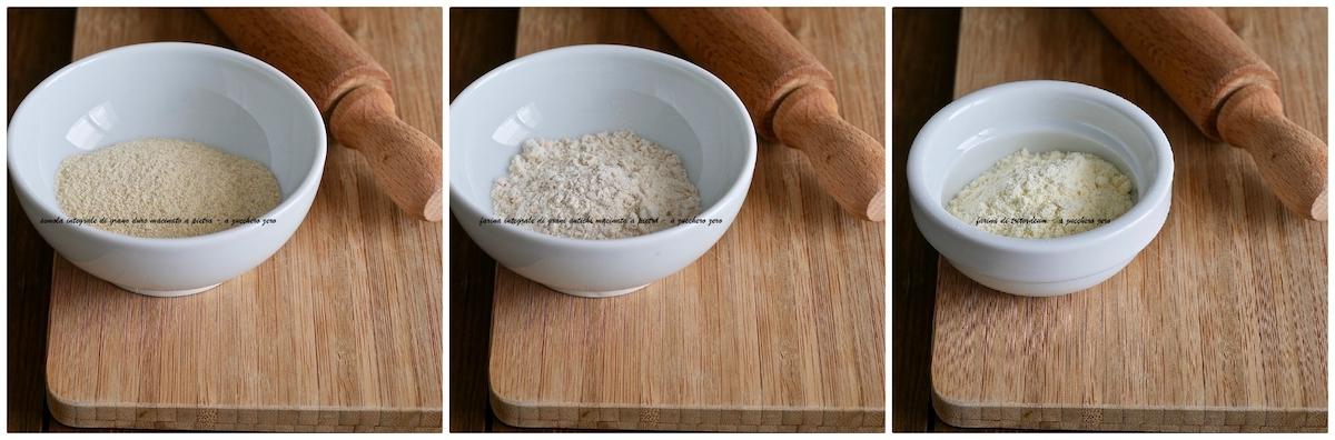 Semola integrale e farine integrali