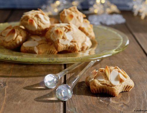 Biscotti integrali alle mandorle senza burro e uova