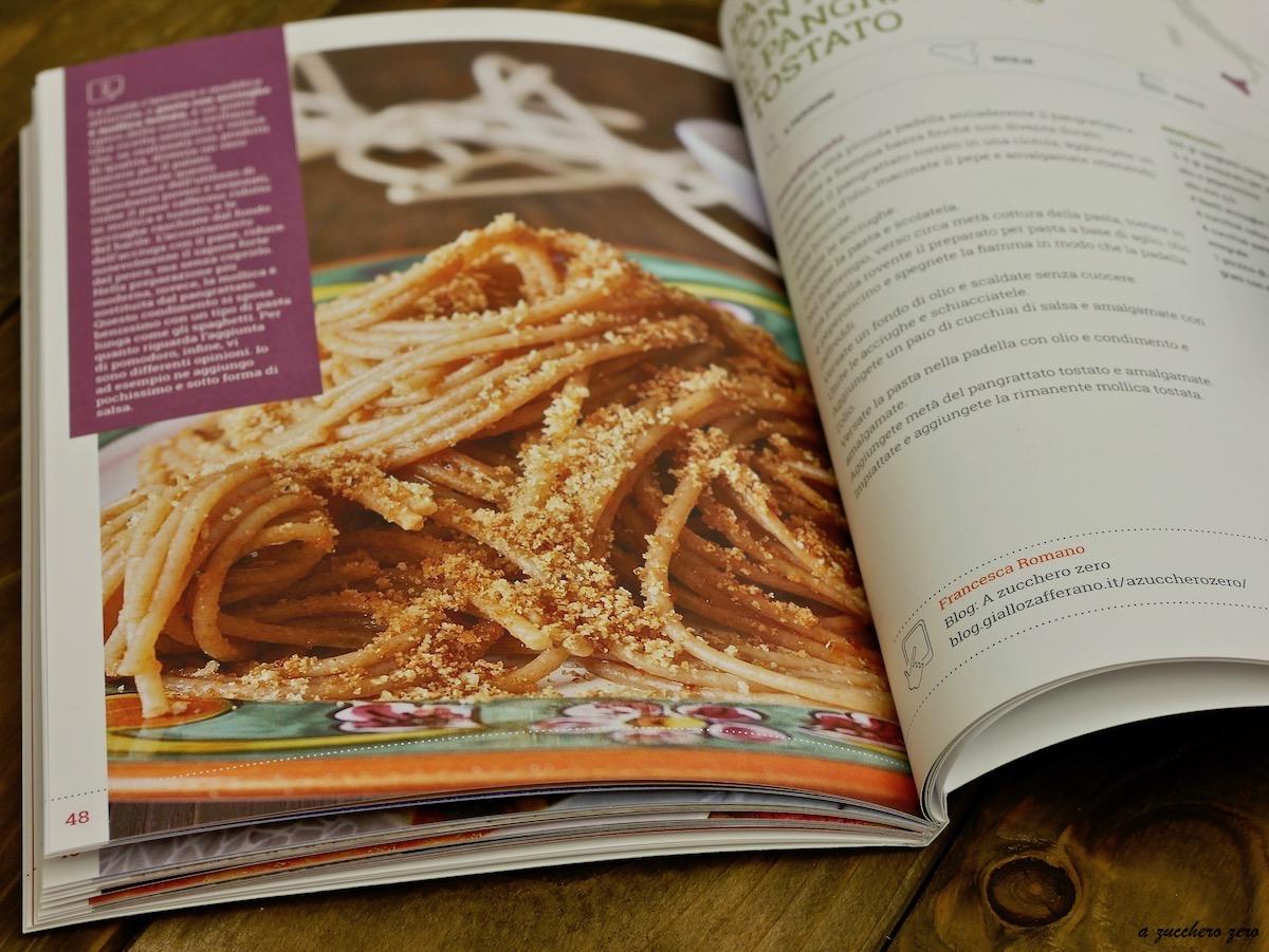 Pasta integrale con acciughe e pangrattato tostato ricettario