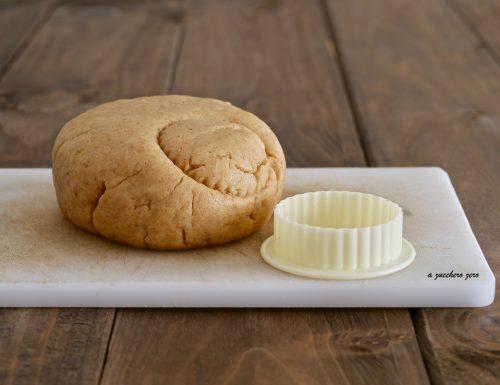 Pasta frolla per crostata integrale senza burro e uova