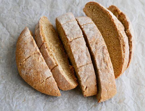 Pane integrale lievitazione 24 ore senza lavorazione