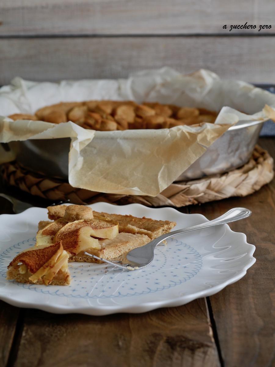 Crostata integrale alle mele e cannella