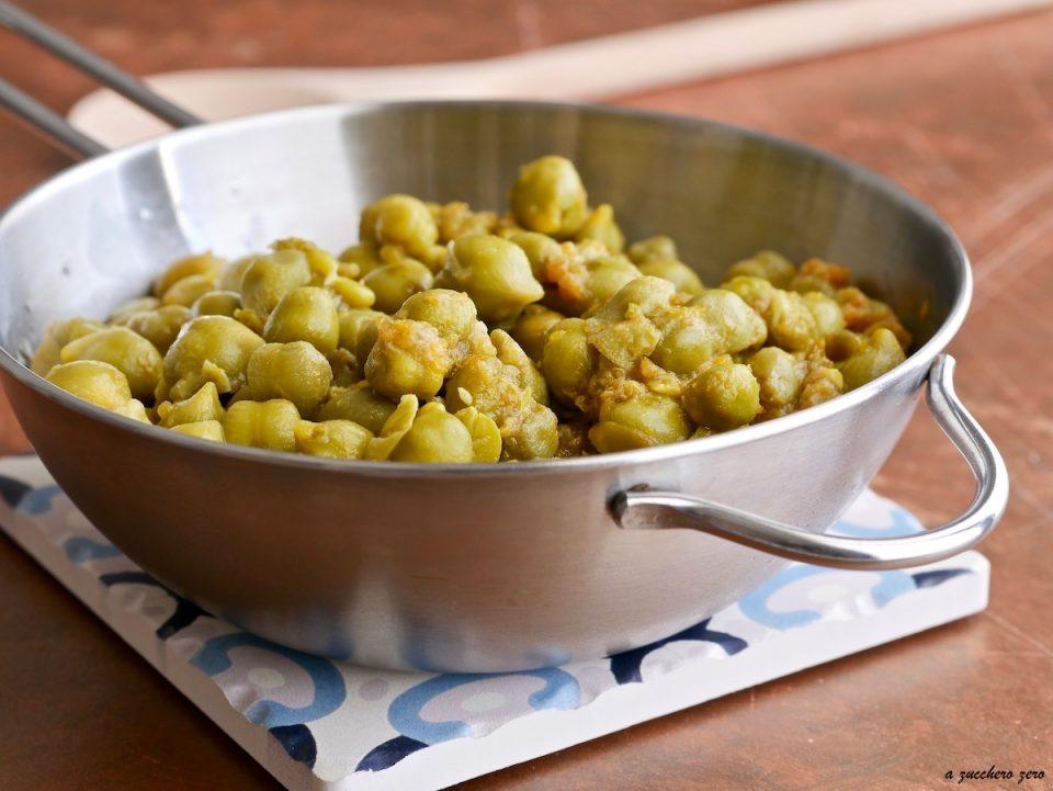 Cucinare i ceci verdi [ricetta base]