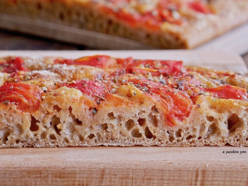 Impasto pizza Bonci interamente integrale