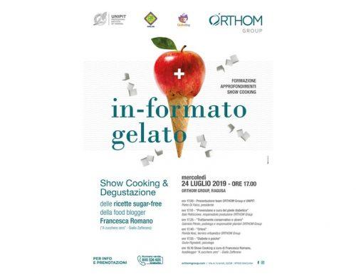 in-formato gelato: formazione, approfondimenti, show cooking presso Orthom Group
