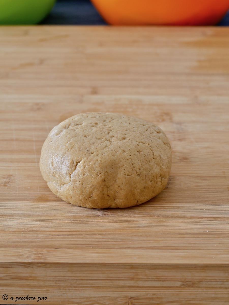 Pasta frolla integrale senza burro e uova