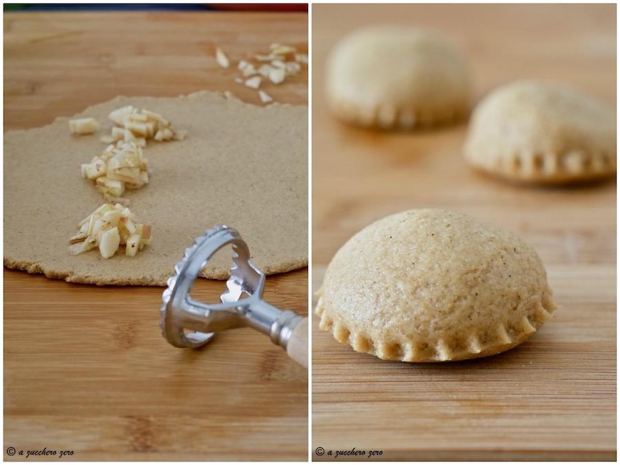 Tutorial biscotti ripieni di mele e mandorle