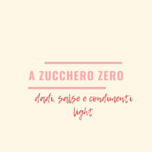 a zucchero zero_dadi, salse e condimenti light