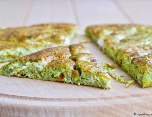 Frittata al forno con broccoli senza formaggio