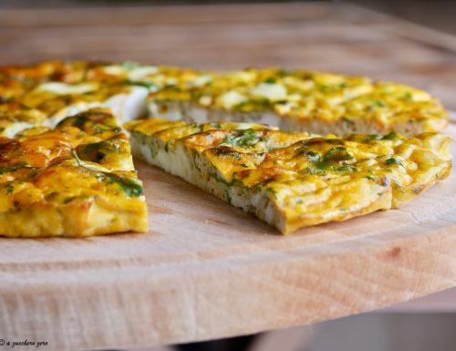 Frittata al forno con zucca senza formaggio