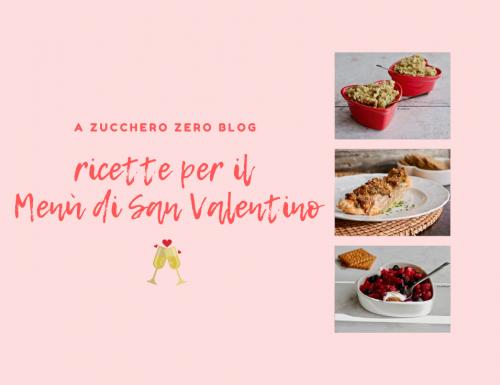 Ricette per il Menù di San Valentino