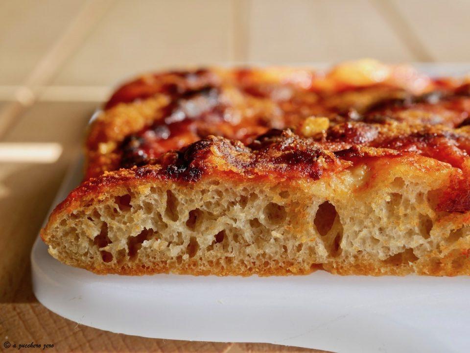 Pizza margherita base integrale