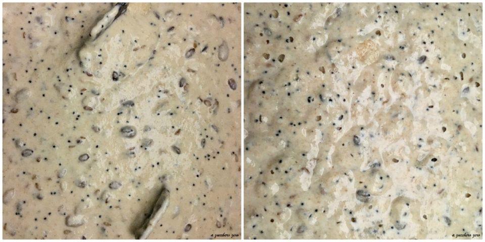 poolish integrale con semi tostati