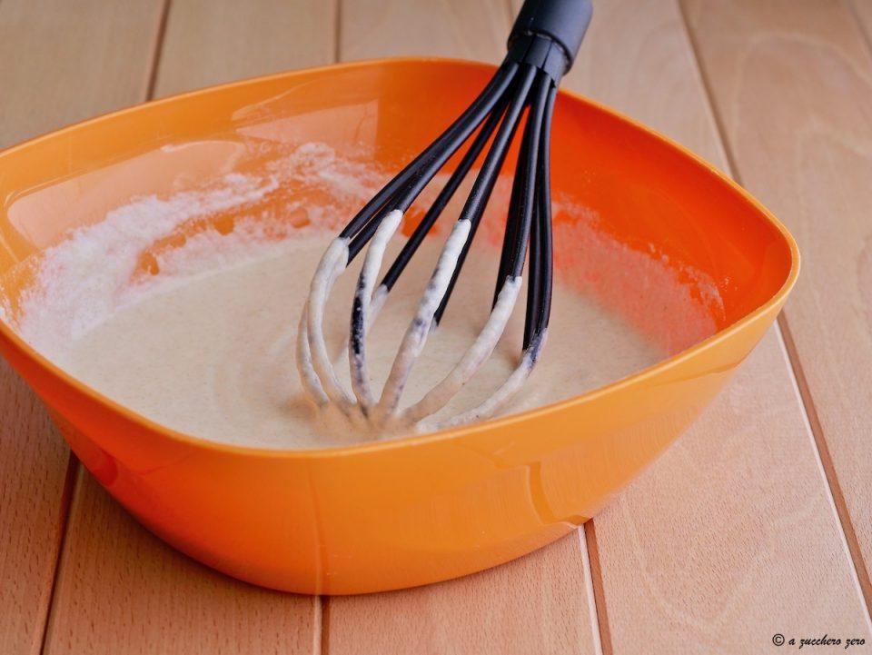 Impasto per torta all'acqua integrale