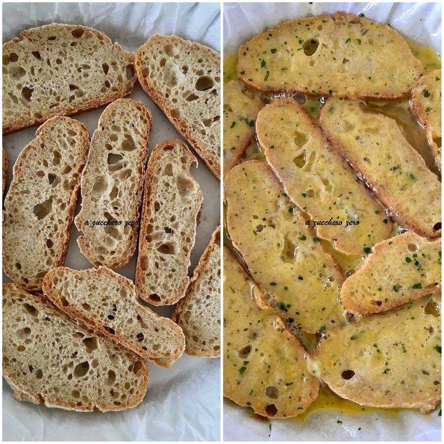 Frittata di pane integrale al forno tutorial