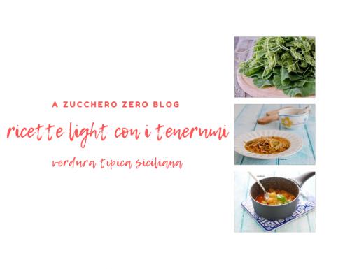 Ricette light con i tenerumi [verdura tipica siciliana]