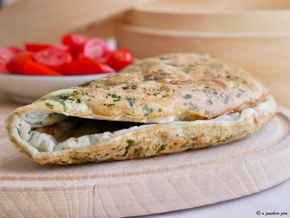 Frittata al forno con prezzemolo senza formaggio