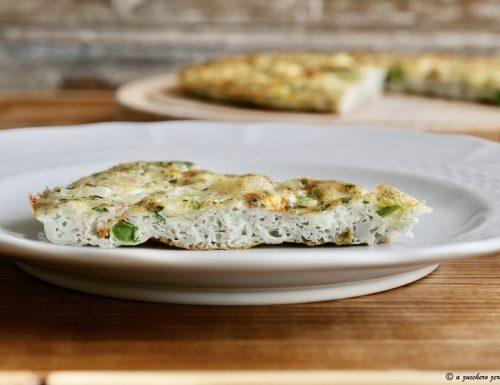 Frittata al forno con verdure senza formaggio