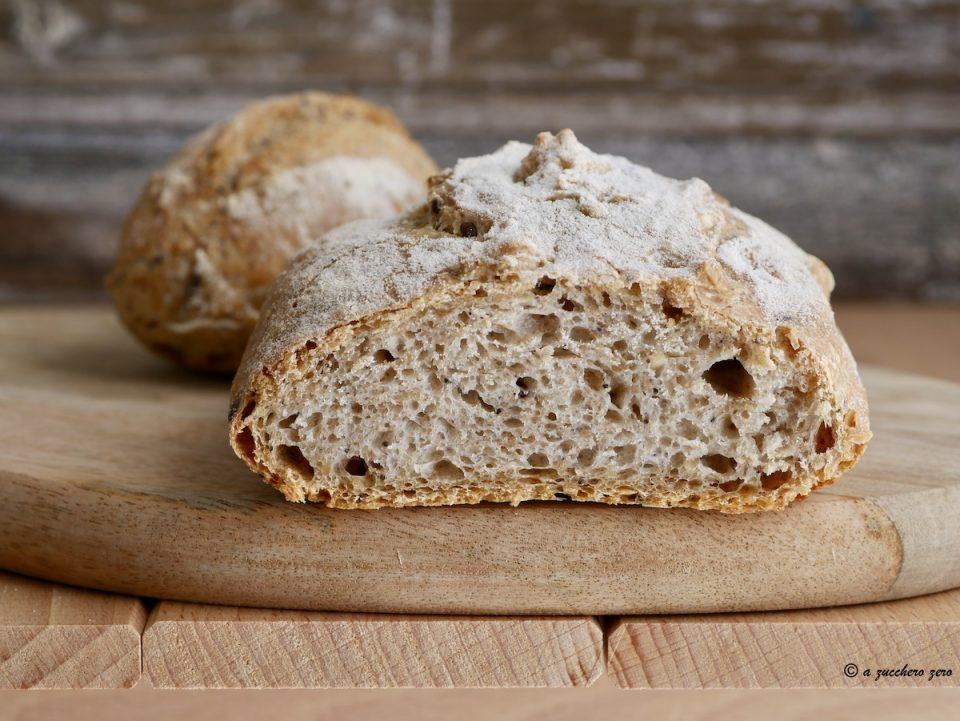 Pane ai semi misti con farina integrale