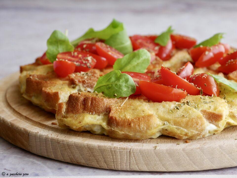 Frittata pane pizza al forno