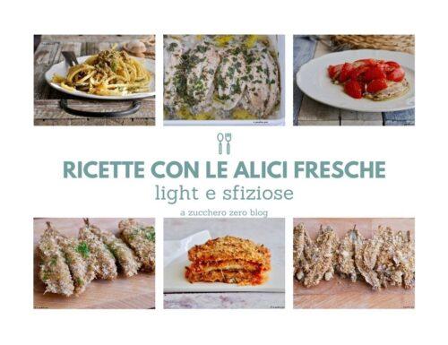 Ricette con le alici fresche light e gustose
