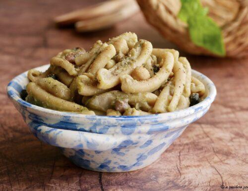 Pasta integrale fredda con legumi misti