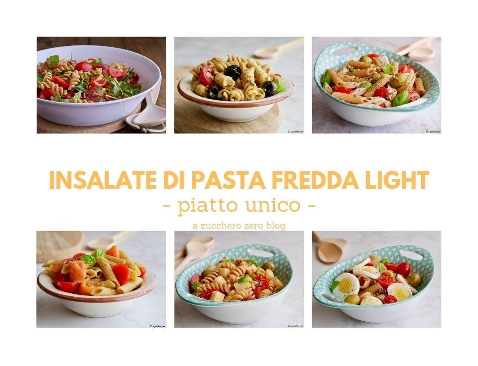 Ricette di insalate di pasta fredda light
