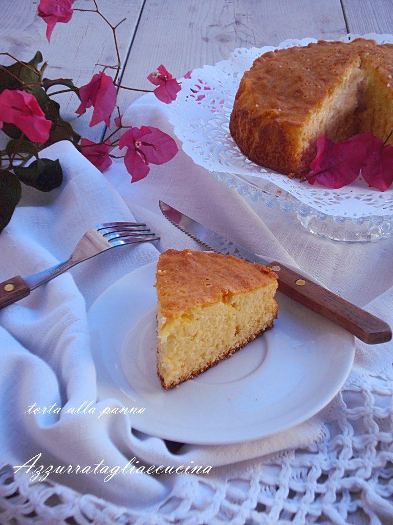 torta alla panna