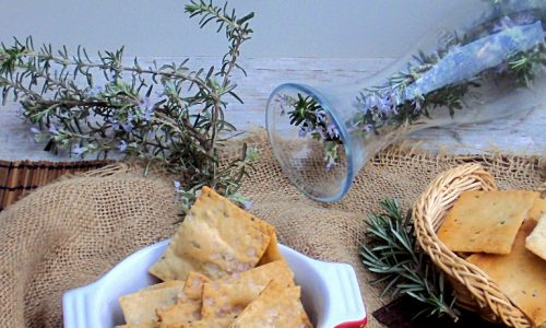 CRACKERS AL ROSMARINO